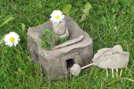 domek borsuka pięciolatki