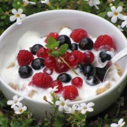 letnia owsianka na zdrowe śniadanie