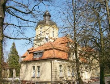 pałac w Łężanach