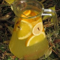 napar imbirowo-goździkowy z cytryną i pomarańczą