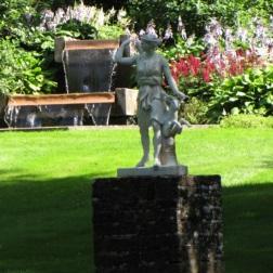 Ogrody królewskie przy letniej rezydencji na Olandii