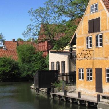 Skansen w Aarhus (Dania)