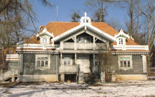 dworek myśliwski wybudowany w 1845 r