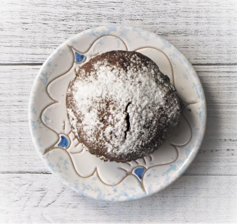 muffinka czekoladowo-kawowa z jabłkami 2