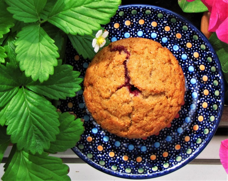 muffinka z malinami 1