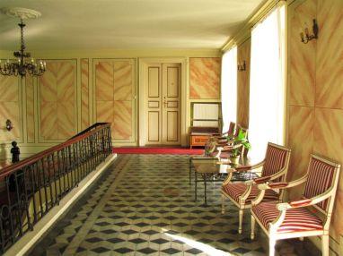 Wnętrze Pałac w Walewicach